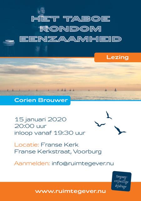 15 januari 2020 lezing Voorburg eenzaamheid
